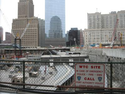 World Trade Center construction site