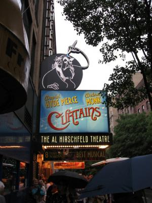 Broadway Musical Curtains