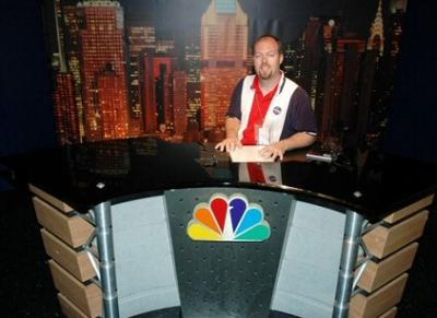 Me at NBC Studios Tour